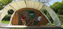 Glamping at The Old Oaks Touring Park
